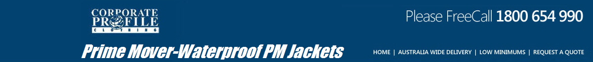 Prime Mover-Waterproof PM Jackets