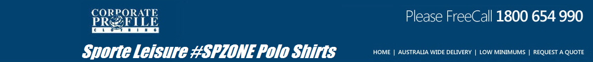 Sporte Leisure #SPZONE Polo Shirts