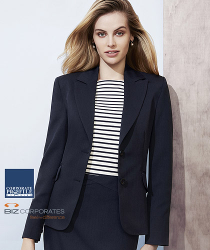 Boat Neck Top #44113 and Short Mid Length Jacket #60111