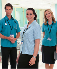 Womens Healthcare Uniform Shirts