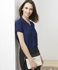 #Madison-Blouse-#S628LS-Short-Sleeve-Uniform-Midnight-Blue-200px